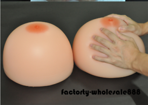 Image Is Loading Kg Huge Silicone Fake Breast Boobs Crossdresser Breast