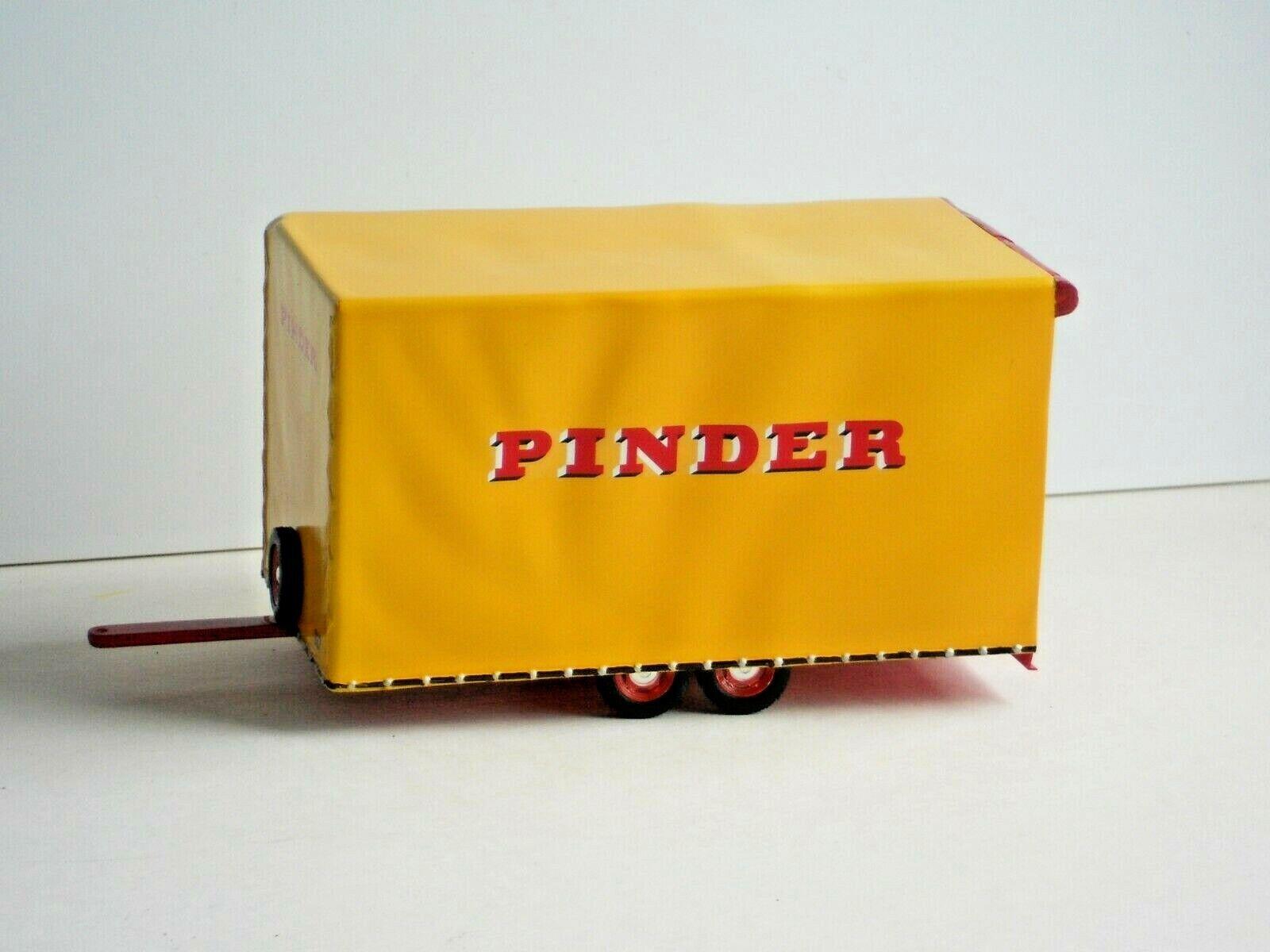 REMORQUE TRAILER TRANSPORT BACHE PINDER 1 43