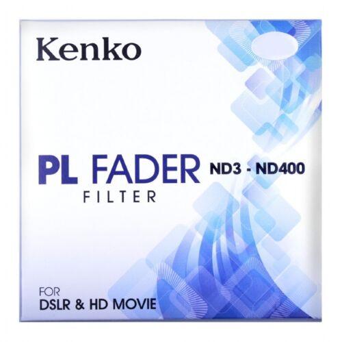 Kenko 52mm ND3-ND400 PL NATURAL DENSITY FADER FILTER