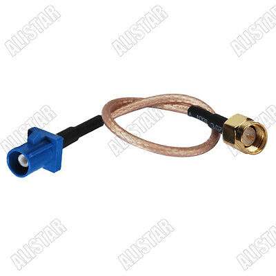 10feet SMA male right angle to Fakra C female jack pigtail cable for GPS
