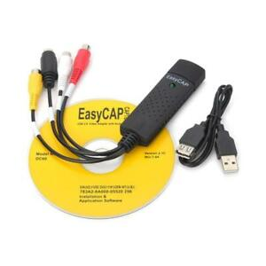 Details about 1 Channel Usb 2 0 Video Capture Card DC60+ DVD TV VHS Audio  Adapter