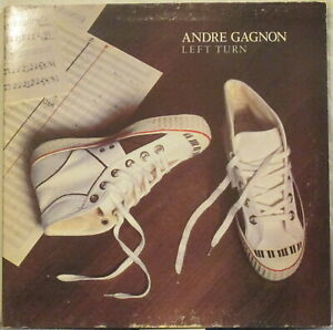 ANDRE-GAGNON-Left-Turn-LP-Canadian-Jazz-Funk-Promo-Copy