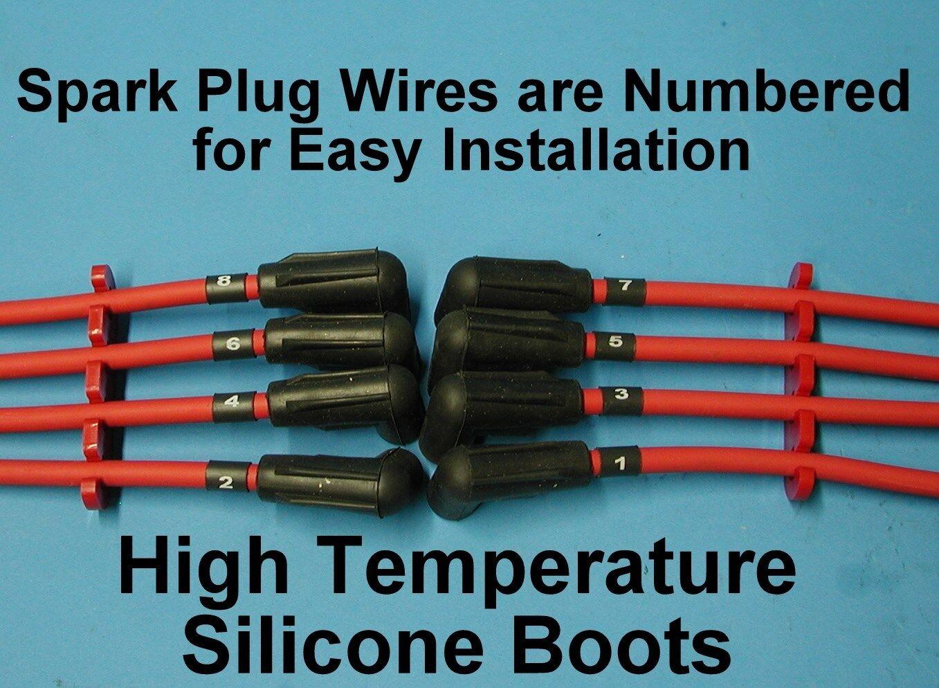 Tune up Mercruiser V8 454 7.4l 502 8.2l Spark Plug Wires Distributor ...