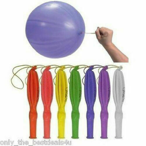 Large Punch Ball Balloons with Elastic Party Bag Fillers Pinata Kids Toys Shine