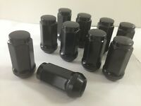 20 Truck Lug Nuts | 9/16 | Fits Dodge Durango, Dakota, Ram 1500, Raider | Black