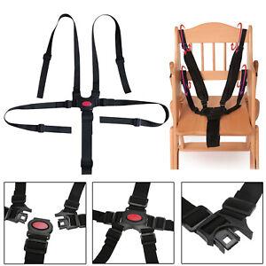 Baby 5 Point Infant Safe Belt Strap Harness For Stroller High Chair
