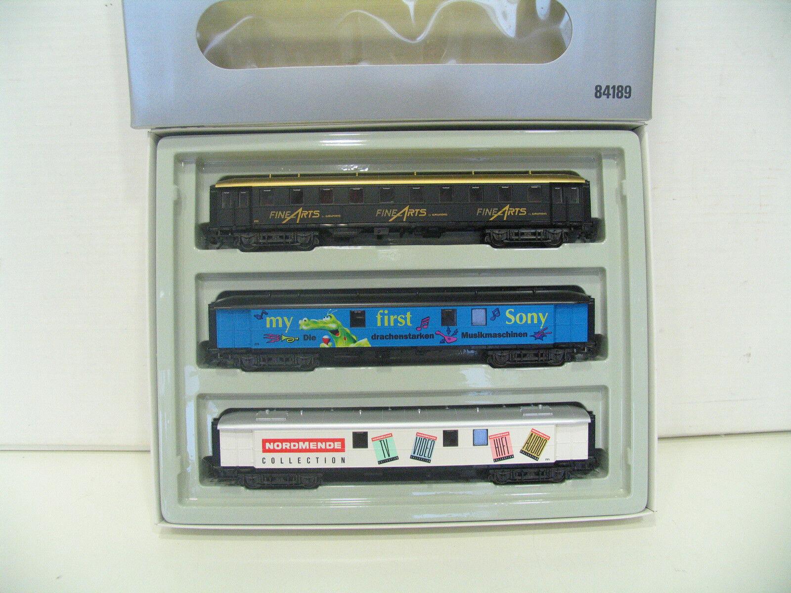 84189 Vagoni Set Music Express xl380