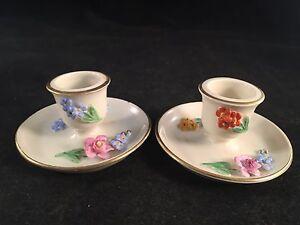 Dresden-Saxony-Miniature-Floral-Porcelain-Candlestick-Holders-Set-of-2-1-1-2-034
