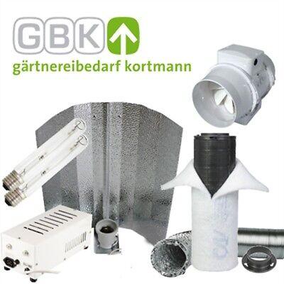 Original 400-w 400-watt Grow Set Ndl System Mit 300m³/h Lüfter & Filter Anbauset Für 1m² Reinigen Der MundhöHle.