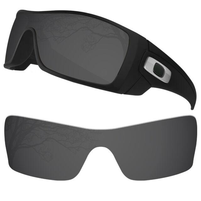Oakley Batwolf Lenses >> Dynamix Polarized Solid Black Replacement Lenses For Oakley Batwolf