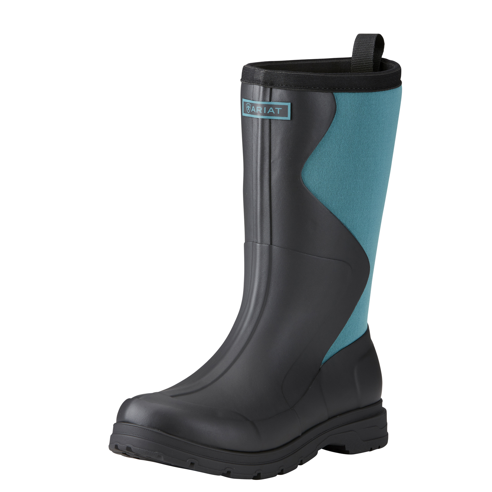 Ariat Springfield Womens Rubber Boot - Black Dusty