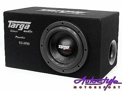Targa 8 inch Subwoofer and Ported Enclosure Combo - 1000rms peak
