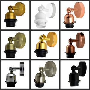 Luces-de-pared-de-estilo-vintage-unico-de-interior-con-Interruptor-de-tirar-abajo-Luces-Lamparas