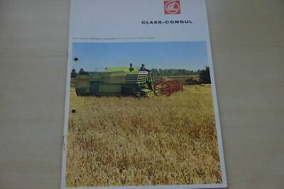 199284) Claas - Mähdrescher - Consul - Prospekt 196?