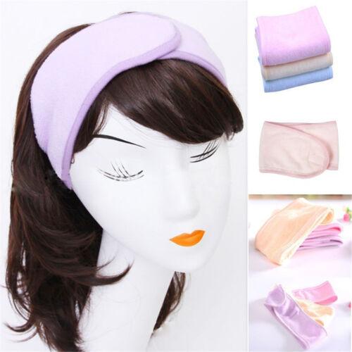 Spa Bad Dusche Make Up Waschen Gesicht Kosmetik Stirnband Haar Band Zubehör H2S7