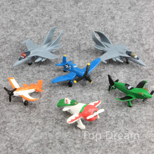 NEW Movie Planes Action Figures Doll Toys Cake Topper Set of 12pcs