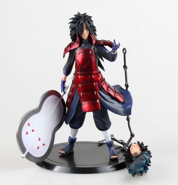 Japanese Anime GEM Naruto Shippuden Uchiha Madara PVC figrue Statue 17cm No Box