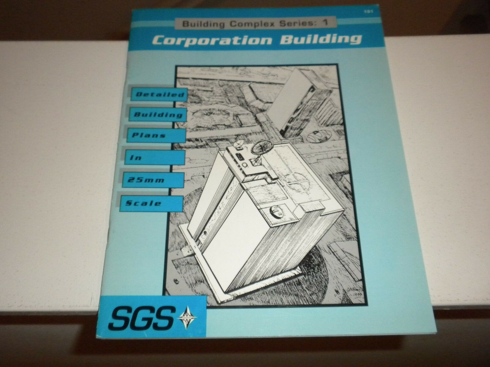 1991 Seeker Gaming Systems: Building Complex Series 1 Corporation Building  101