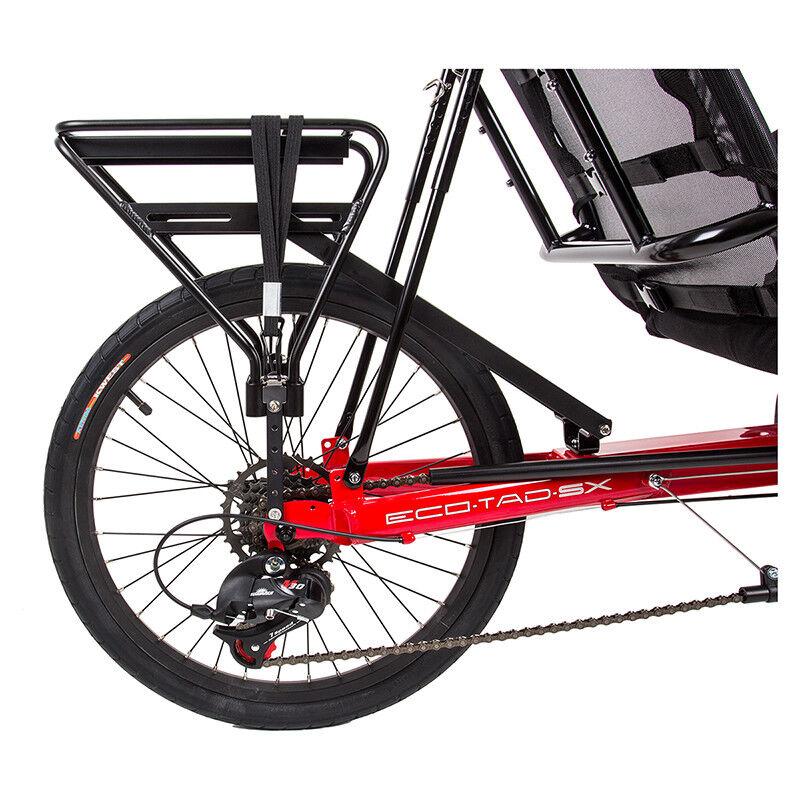 Sun Seeker Reclinato Supporto Posteriore Porta Bici RR Sole Skr EcoTad Aly Nero