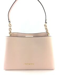 08254a2082e9 Image is loading New-Authentic-Michael-Kors-Sofia-Large-Leather-East-