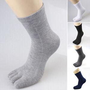 Men-039-s-Warm-Stretch-High-Socks-Slim-Fit-Breathable-Elastic-Full-Fingers-Hosiery