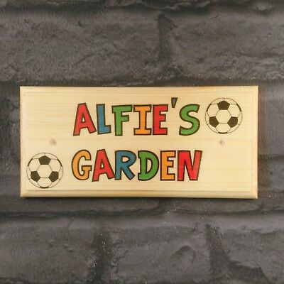 Personalised Playhouse Sign Colourful Kids Treehouse Sign Custom Childrens Playhouse Plaque