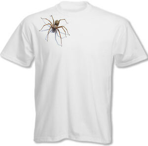 Scary Spider Mens Funny T-Shirt Halloween Arachnophobia Fancy Dress Costume Joke