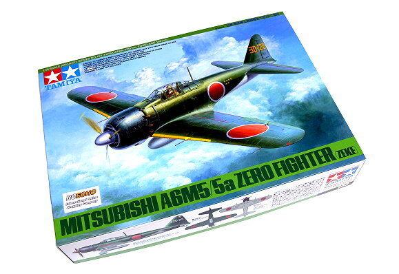 Tamiya Aircraft Model 1 48 Airplane MITSUBISHI A6M5 5a Zero Fighter (Zeke) 61103