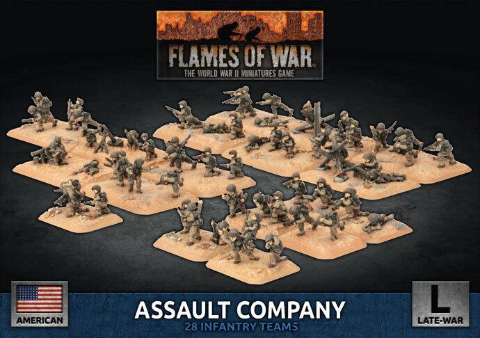 Flames of War - American  Assault azienda UBX86   spedizione veloce a te