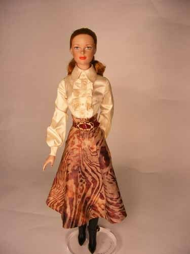 Safari Blouse /& Skirt Doll Clothes Sewing Pattern for Tyler Fletcher Tonner