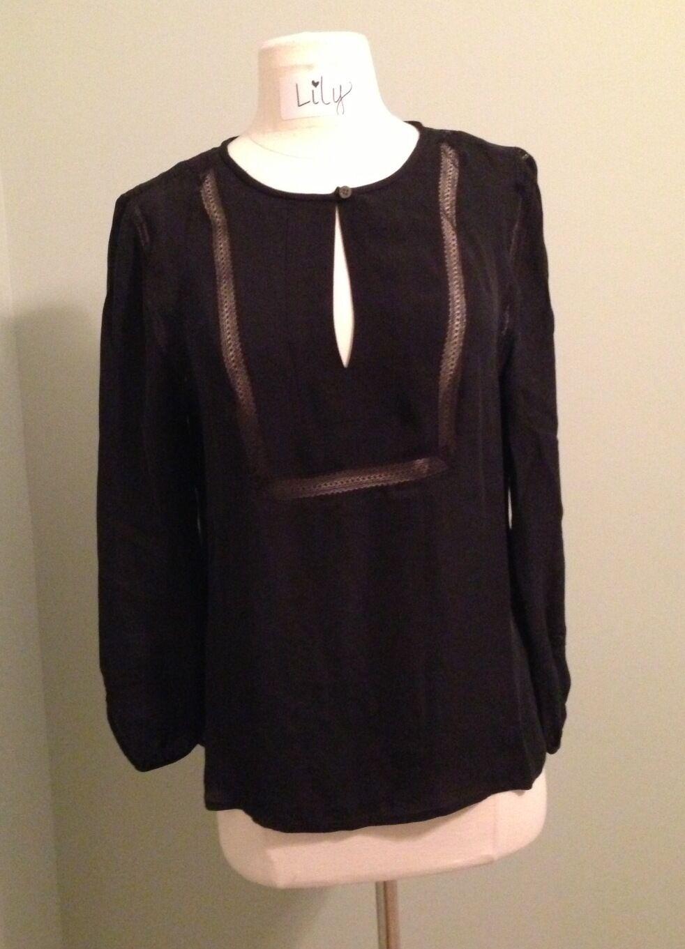 JCrew Collection Lace-Trim Top --Größe 6--A MUST HAVE
