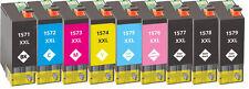 9x XXL Tinten Patronen für Epson Stylus Photo R3000 mit Chip Kompatibel Set