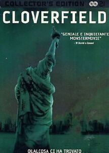 Cloverfield-2008-DVD-2-Dischi-Nuovo-Steel-Book-Metal-Box-Collector-039-s-Edition-Tin