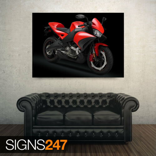 BIKE POSTER AC500 BUELL 1125CR MOTORCYCLE 4 Poster Print Art A0 A1 A2 A3