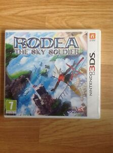 Rodea-The-Sky-Soldier-Nintendo-3DS-NEW-amp-SEALED-PAL