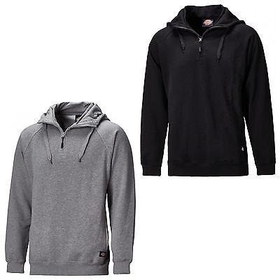 XXXL SH11900 Hoodie Dickies Elmwood Hoody Hooded Sweatshirt Black Grey M