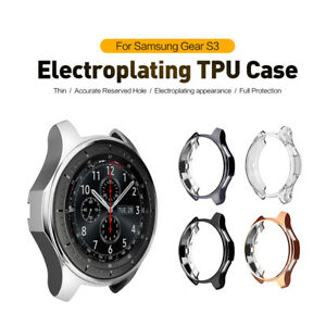 Electroplating-TPUProtective-Case-for-Samsung-Gear-S3-SM-R760-Galaxy-Watch