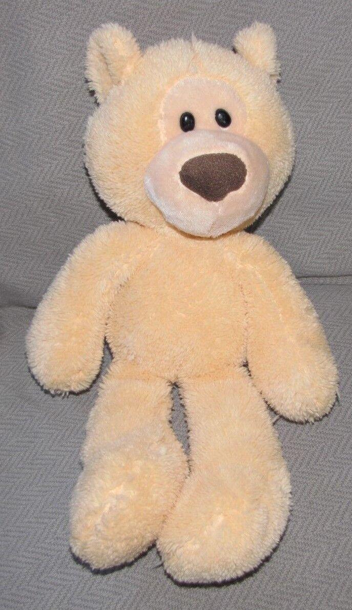 GUND G50 STUFFED PLUSH BEIGE CREAM SOFT TAKE ALONG TEDDY BEAR 4037928 14