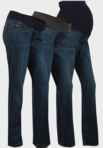 Maternity Bootcut Jeans Over & Under The Bump Liz Lange Range ...