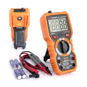 Multimeter Pm18 True Rms Professionnel Dmm Peakmeter 6000 Counts Ncv Source De Lumière-afficher Le Titre D'origine