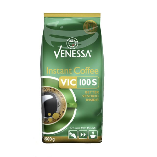 Venessa VIC 100S Instant Coffee 10 x 500g Vending Automatenkaffee