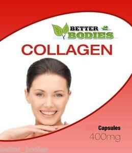 Collagene-Marino-180-x-400-mg-capsule-Skincare-Anti-Ageing-meglio-Organismi