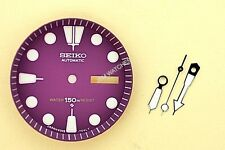 NEW SEIKO PURPLE DIAL HANDS MINUTE TRACK SET FOR SEIKO 6309 7040 WATCH NR#202