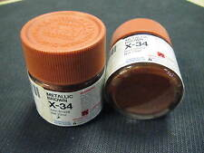 Tamiya Acrylic model paint - X-34 81034 Metallic Brown (gloss)