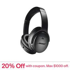 BOSE QuietComfort 35 II Headphones (Black)