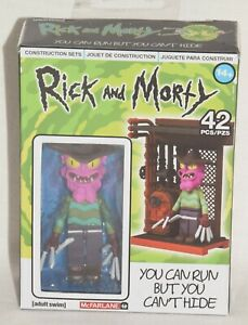 McFarlane Rick and Morty You Can Run But You Can't Hide Construction Set
