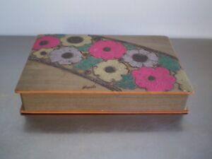Box-Smoker-Art-Deco-Boxset-1930-Decoration-Flower-Styled-Geometric-Dyed-Patch