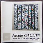 Catalogue Exposition Artiste Broderie - Nicole Gaulier - Françoise Monnin B