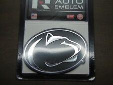 "Penn State University /""Navy/"" Shiny Chrome Auto Emblem"