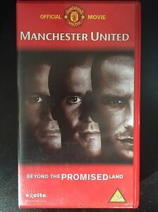 Manchester-United-Beyond-The-Promised-Land-VHS-2000-Video-Tape